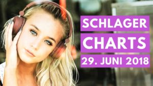 Read more about the article SCHLAGER CHARTS TOP 10 vom 29. JUNI 2018