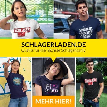 schlager t-shirts und schlager outfits für die nächste schlagerparty oder das nächste schlagerkonzert