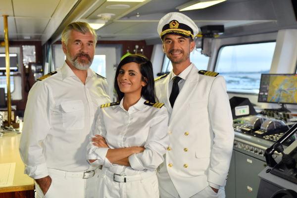 Das Traumschiff Thaa Atoll mit Daniel Morgenroth, Collien Ulmen-Fernandes und Florian Silbereisen