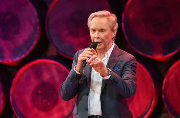 Peter Kraus bei Schlagerspaß mit Andy Borg am 25. September 2021