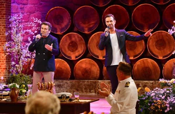 Thomas Anders und Florian Silbereisen bei Schlagerspaß mit Andy Borg am 25. September 2021